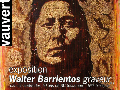 Walter Barrientos expose à Vauvert