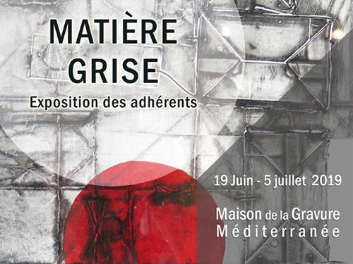 AG et expo Matière Grise!